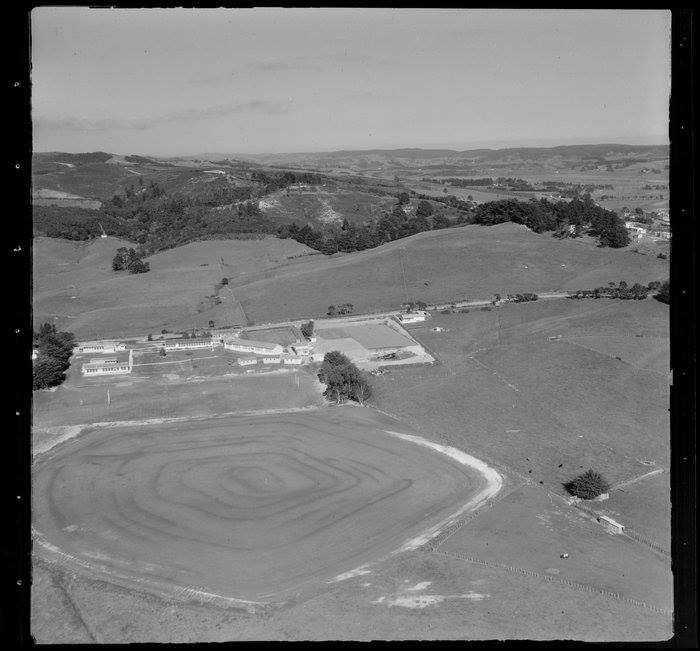 Kaipara College Aerial Early