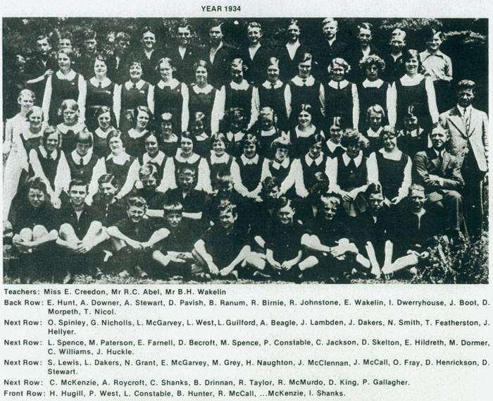 School Photo 1934